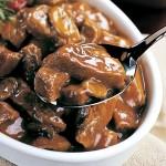 Diabetic Beef Tip Crock Pot Recipe with Mushrooms