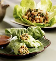 Recipe for Cashew Chicken Lettuce Wrap Recipe