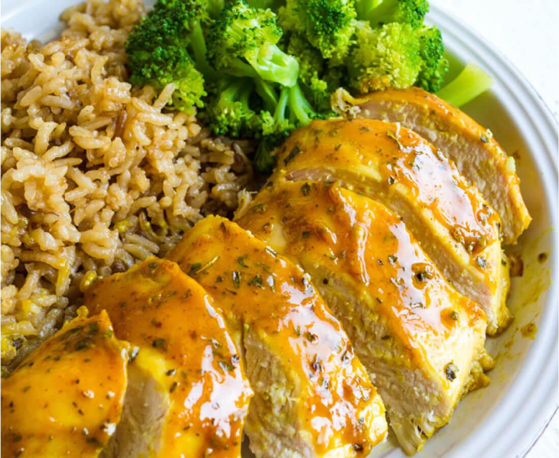 Easy Honey Mustard Chicken Living Well Recipes