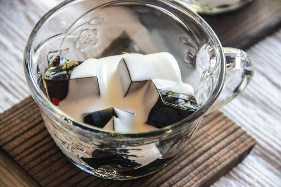 Asian coffee jelly