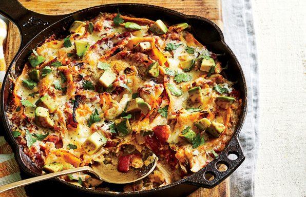 1 pot enchilada casserole